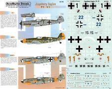 AEROMASTER DECALS 1/48 Messerschmitt Bf 109G-2/6/10 5./JG 52 5./JG 11(Luftwaffe)