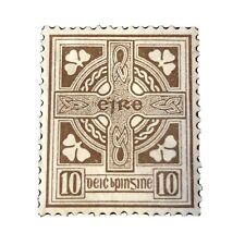 IRELAND, SCOTT # 75, 10p. VALUES BROWN DEFINITIVE 1922-23 ISSUE MH