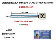 CANDELETTA RESISTENZA X STUFA PELLET 12,5 x 101 - 300W ARCE EUROFIAMMA FURBETTA