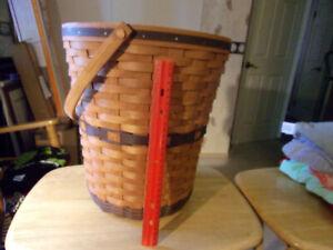 Longaberger Banker's Waste Basket 1989 - Preowned - $15 s/h