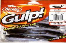"Berkley Gulp! Freshwater Fishing Lure 4"" Minnow Rainbow GMI4-RBO Bass Walleye"