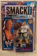 WWF Titantron Live Smackdown! Stone Cold Steve Austin With Belt Jakks WWE (MOC)