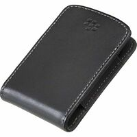 Genuine BlackBerry Leather Pocket Pouch HDW-24206-001 Curve 8520 9300 Bold 9700