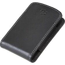 Bolsa de bolsillo de cuero genuino BlackBerry HDW-24206-001 Curve 8520 9300 Bold 9700