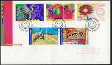 2001 AUSTRALIA Colour My Day (5) FDC