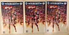 LOT OF 3 HARLEY QUINN #1 DC REBIRTH Variants VF/NM RARE ONLY 3000 MADE!