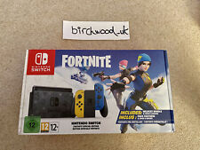Nintendo Switch Fortnite Edition NEW ✅ DHL NEXT DAY 🚚 - TRUSTED SELLER ✅