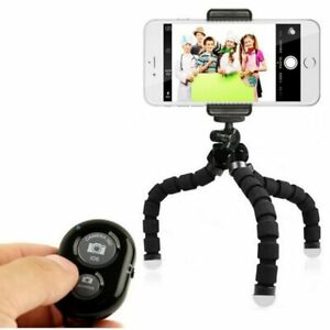 New Flexible Mini Tripod for Mobile Phone Clip Camera iphone Samsung & Huawei