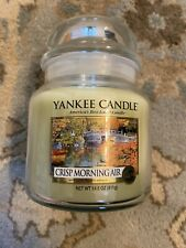 New Yankee Candle Crisp Morning Air, 14.5 oz, Medium Jar