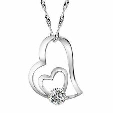 Pendant Jewelry Crystal Cuban New Necklace Sterling Silver Chain Women Fashion