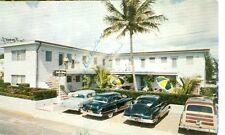 FLORIDA, HOLLYWOOD BEACH CLARK'S SURF N SPRAY APTS. PM 1954 (FL-H)