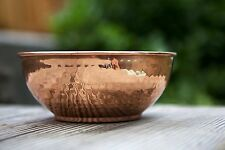 Hammered Copper Multi Use Serving Mixing Bowl Kitchenware Home Decor Gift Item