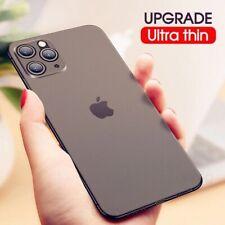 For iPhone Quality  Phone Case Ultra Thin translucent Matte Back Slim Stylish