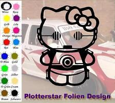 Kitty C3PO JDM Sticker Aufkleber oem PS Power fun Shocker Fun