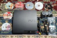 Sony Playstation 3 Slim 160 GB + 6 Games , 1 controller, HDMI and Power cord **