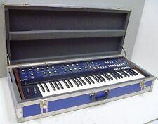 Vintage KORG PolySix 61-Key Analog Programmable Synthesizer w/ Hard Flight Case
