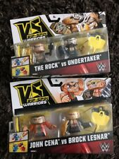 WWE VS Rip Spin Warriors The Rock VS Undertaker & John Cena VS Brock Lesnar