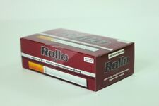 CLEARANCE 900 RED KING SIZE ROLLO TUBES Cigarrette Tobbacco Filter Tip 15mm