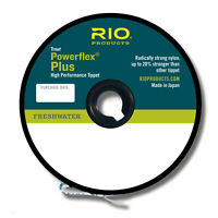 Rio Powerflex Plus Tippet 50 yd. Spool CHOOSE YOUR SIZE (0X 1X 2X 3X 4X 6X 7X)