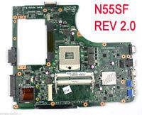 For ASUS N55SF N55SL N55S Motherboard 60-N1OMB1300 REV 2.0 PGA989 Mainboard