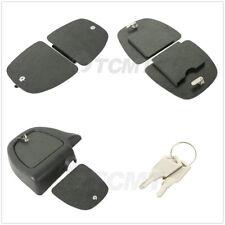 ABS Black Lower Fairing Locking Glove Box Doors For 05-13 Harley Touring Glide
