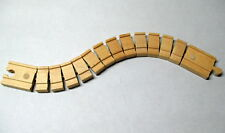 "Thomas & Frends Wooden Railway, 1- 14"" SECTION WACKY TRACK, EUC"