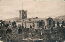 Swaledale grinton church 1918 valentine