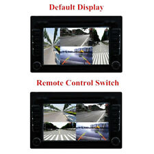 Auto 4-Way Video Switch Parking Camera 4 View Image Split-Screen Control Unique