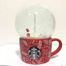 Starbucks Snow Globe Holiday X'Mas(Snow Ball)