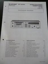 ORIGINALI service manual BLAUPUNKT CASSETTE DECK c-150