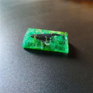 2.25X Resin Enter 52HZ Whale Fall Keycaps Handmade Key Cap For Cherry MX Keypad