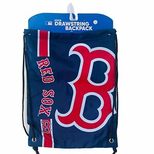 Foco Forever Collectibles Boston Red Sox MLB Drawstring Backpack Gym Bag [NIP]