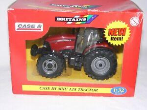 Britains Boxed 40784 Case IH MXU 125 Tractor Unused