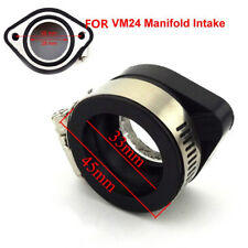 28mm 35mm Car Carb Flange Intake Adapter Manifold Boot for VM24 Manifold Intake