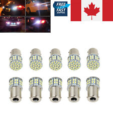 10x Super White 1156 BA15S Car Rear Turn Signal Light 50 SMD LED Bulb 12V CA