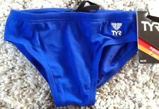 TYR Male Performance SOLID RACER-Y SWIMWEAR ROYAL - Size 24