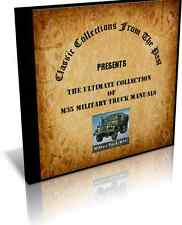M35 Military Truck Manuals on CD