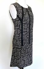 Nic + Zoe Black Dots Direction Dress. NWT Size S Retail $168 Price $48