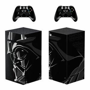 Star Wars Darth Vader Vinyl Skin Sticker for Xbox Series X Console Controllers