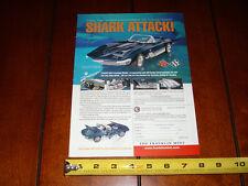 CORVETTE MAKO SHARK FRANKLIN MINT - ORIGINAL 1997 AD