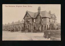 Derbyshire Derbys DERBY Brighton Rd The Welcome Inn c1900/10s? PPC