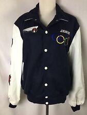 1991 Olympic & World Figure Skating Champion Leather Varsity Jacket Adult Bomber