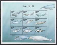 Tanzania postfris MNH sheet - Vissen Walvis / Fish Whale (XL108)