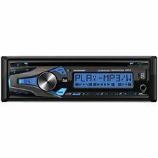 DUAL DC206BT Single-DIN In-Dash CD AM/FM Receiver Remote Bluetooth