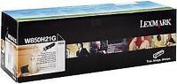 LEXMARK W850H21G Black High Yield Toner 35k *