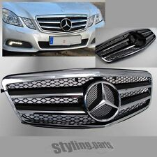 Grille in Chrome Black Mercedes W212 S212 E-class compl. with Star