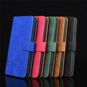 For ZTE Blade Vantage 2/Quest 5 Case Magnetic Leather Wallet Flip Stand Cover