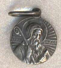 Religious Christianity Medal San Benito Abad Very Nice