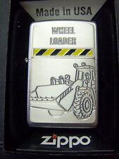 Zippo Sturmfeuerzeug WHEEL LOADER Emblem Radlader