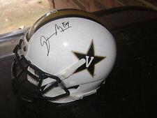 Jordan Matthews Vanderbilt Signed White Helmet Philadelphia Eagles NFL